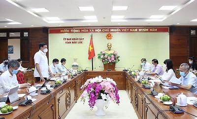 Thứ trưởng Đỗ Xuân Tuyên: Đắk Lắk cần chủ động chuẩn bị sẵn sàng các tình huống, tránh để