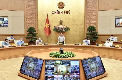 Thủ tướng chủ trì cuộc họp Ban Chỉ đạo Quốc gia phòng, chống dịch COVID-19
