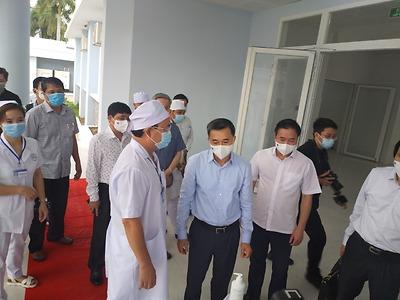 Đoàn công tác số 5 của Bộ Y tế làm việc tại Sóc Trăng