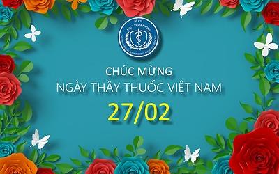 Bộ trưởng Bộ Y tế Nguyễn Thanh Long gửi thư chúc mừng cán bộ, công chức, viên chức ngành Y tế nhân kỷ niệm 66 năm ngày Thầy thuốc Việt Nam (27/02/1955-27/02/2021)